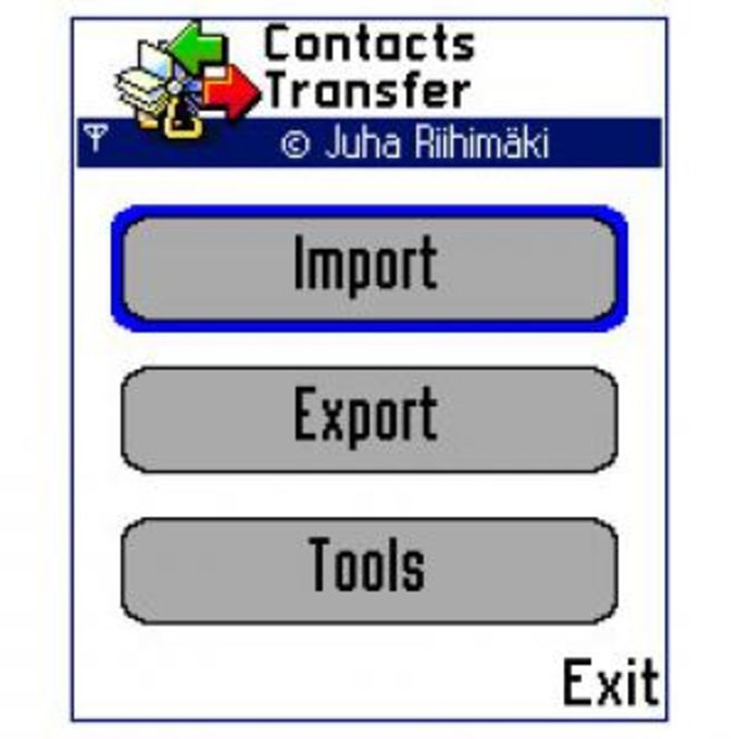 Contacts Transfer