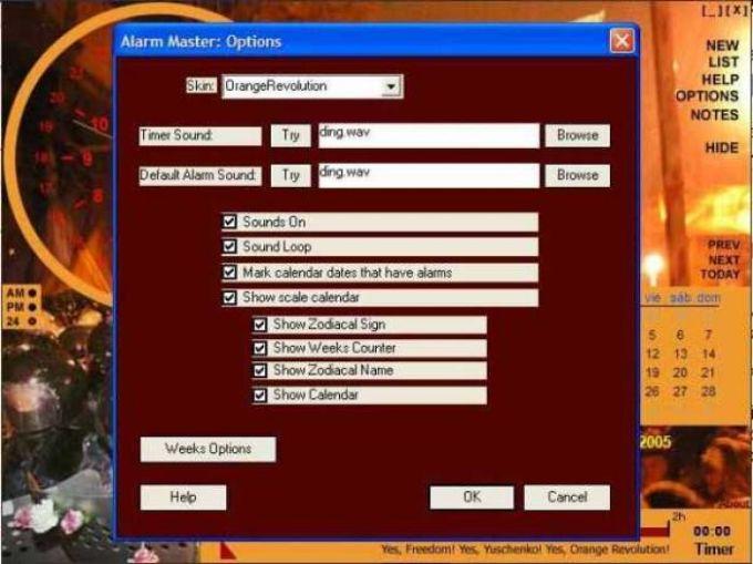 Orange Revolution Alarm