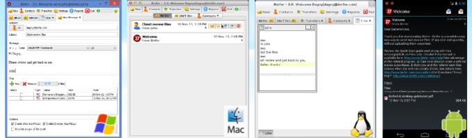 Binfer Transfer/Send Large Files Easily