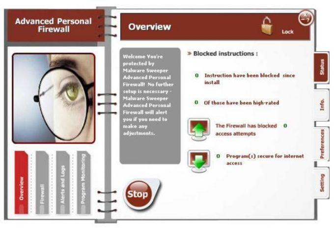 Advanced Personal Firewall