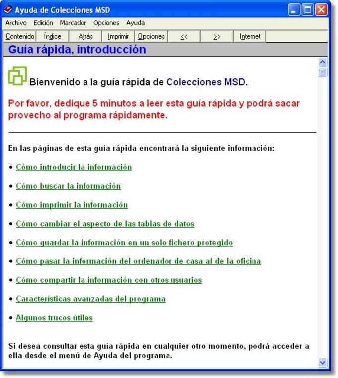 Colecciones MSD