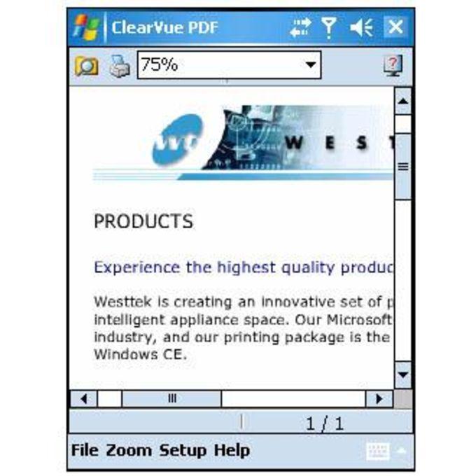 ClearVue PDF