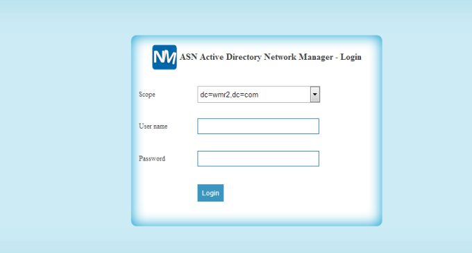 ASN Active Directory Network Manager