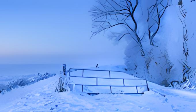 Snow panoramic Windows themes