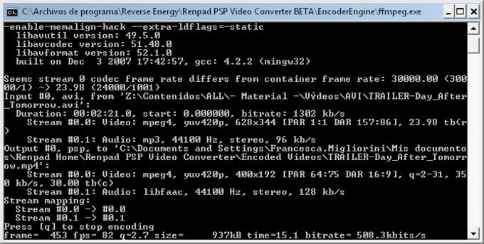 Renpad PSP Video Converter