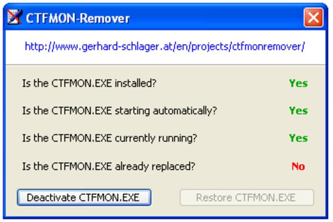 CTFMON-Remover