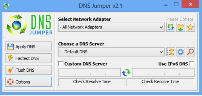 DNS Jumper