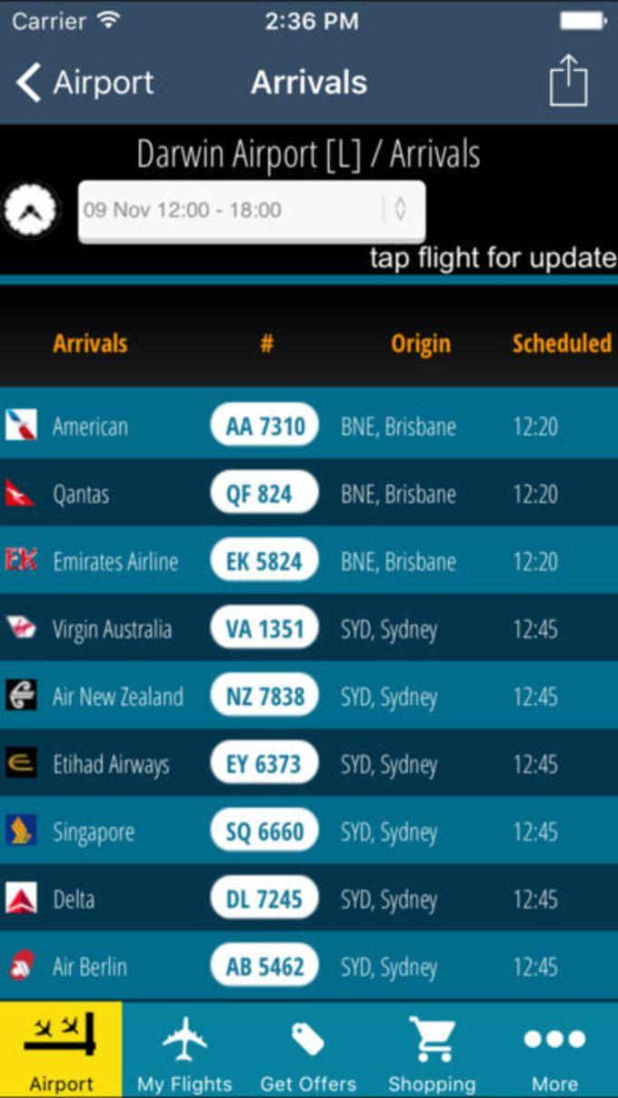 Darwin Airport Pro DRW  Flight Tracker