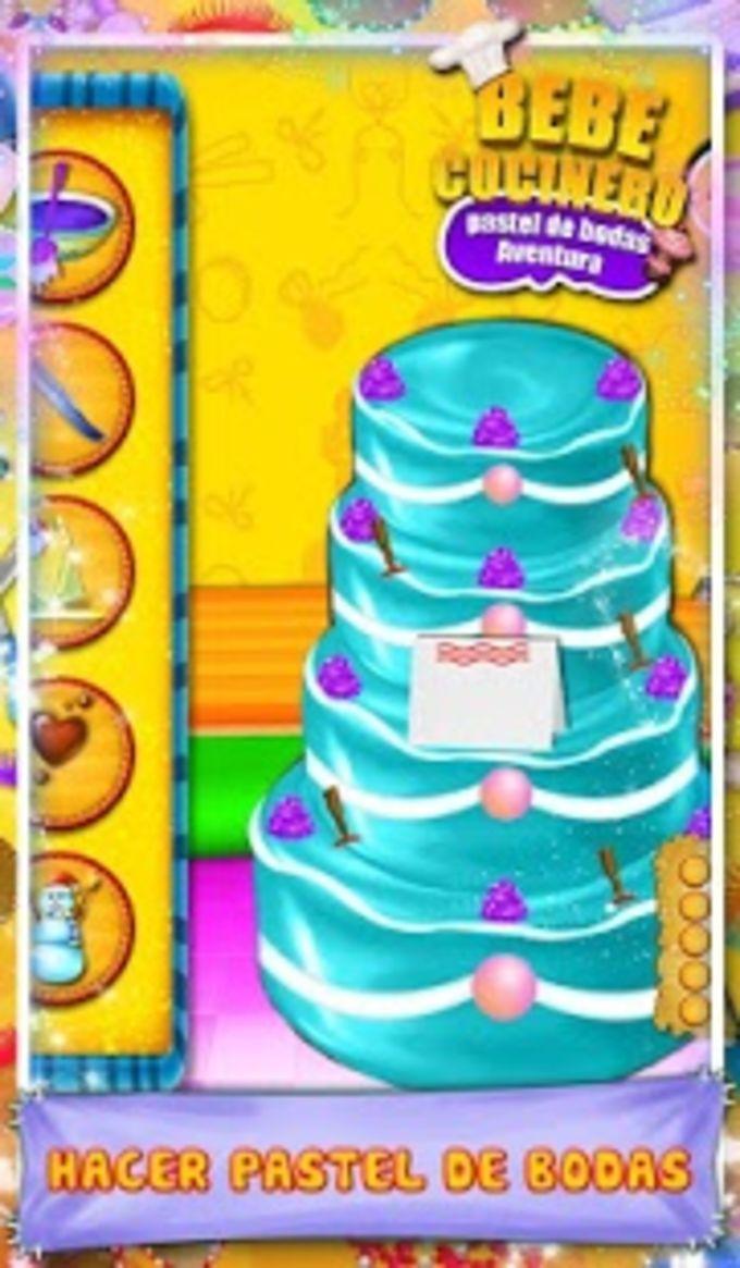 Bebé chef Pastel de boda