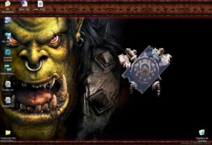 Warcraft Clock