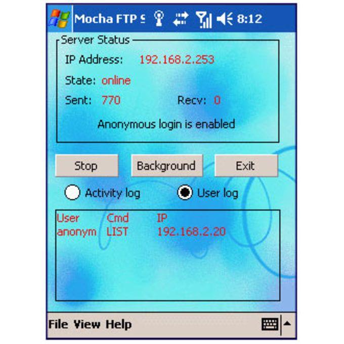 Mocha FTP Server