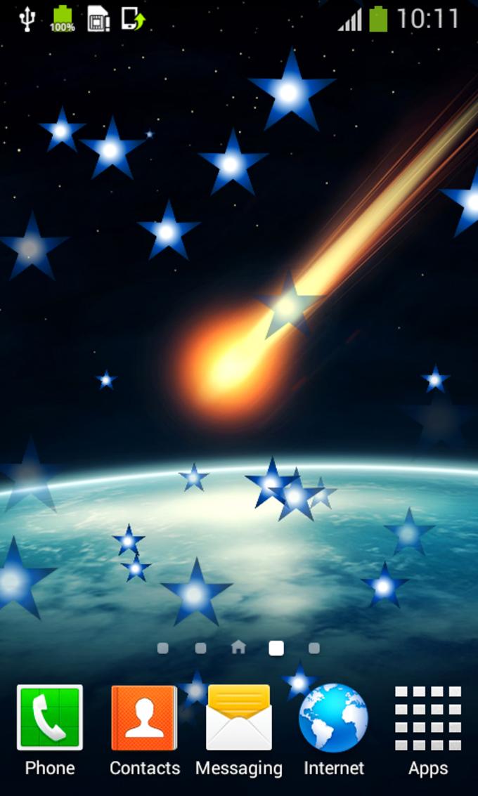 Meteor Shower Live Wallpapers