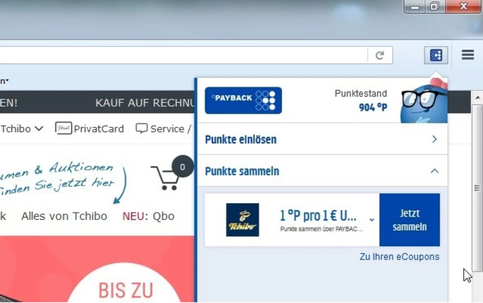 PIA - PAYBACK Internet Assistent