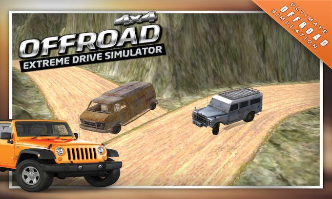 4x4 Offroad Drive Simulator 3D