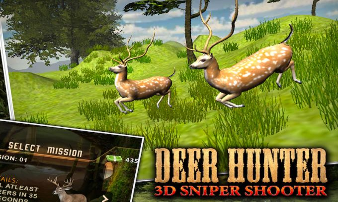 Deer Hunting 3D Sniper Shooter