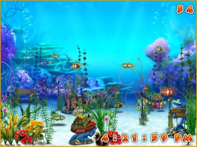 Exotic Aquarium 3D Screensaver