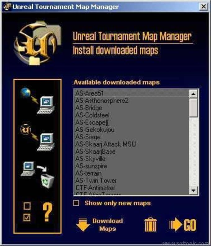 Unreal Tournament Map Manager