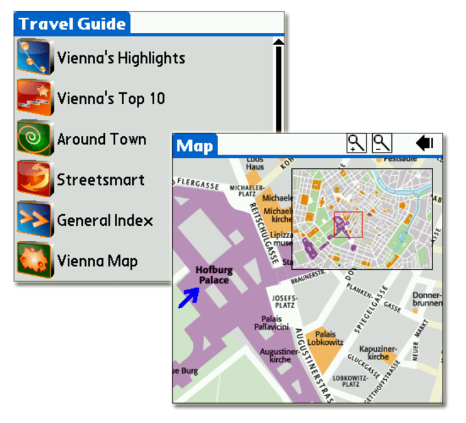 Vienna DK Eyewitness Top 10 Travel Guide & Map