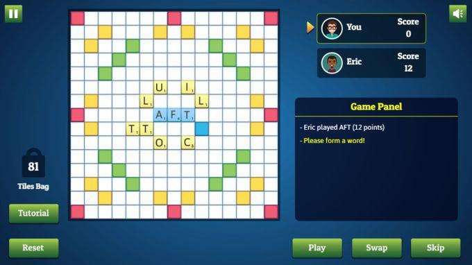 Words Scrabble Plus