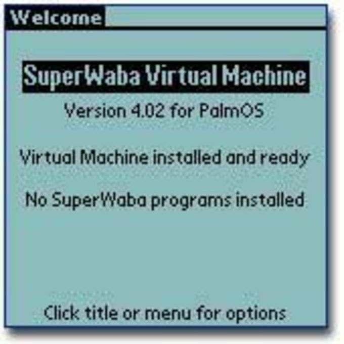 SuperWaba