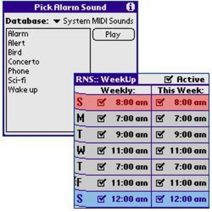 WeekUp Alarm Clock