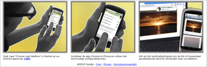 Google Chrome to Phone Extension - Download