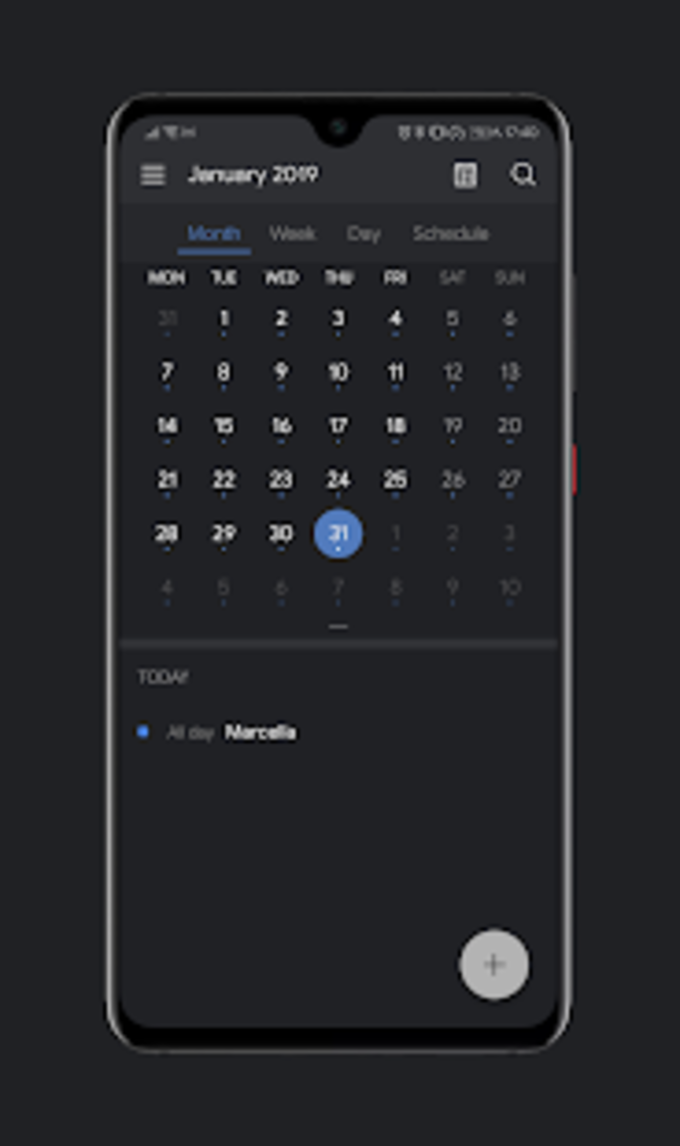 Dark Pie EMUI 9 Theme for Huawei