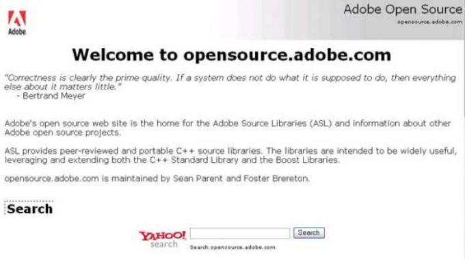 Adobe Source Libraries