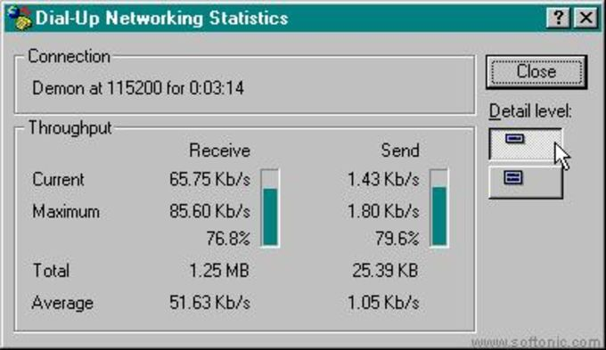 Dial-Up Networking Monitor