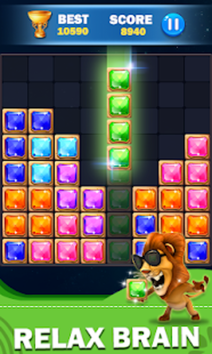 Block Puzzle Legend  Jewels Puzzle Game