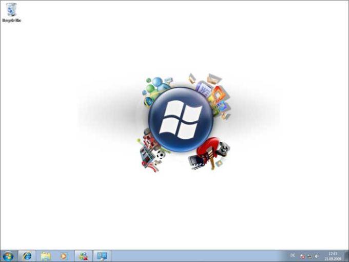 Start Windows 7 Theme
