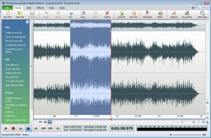 Wavepad Audio Editor Pro