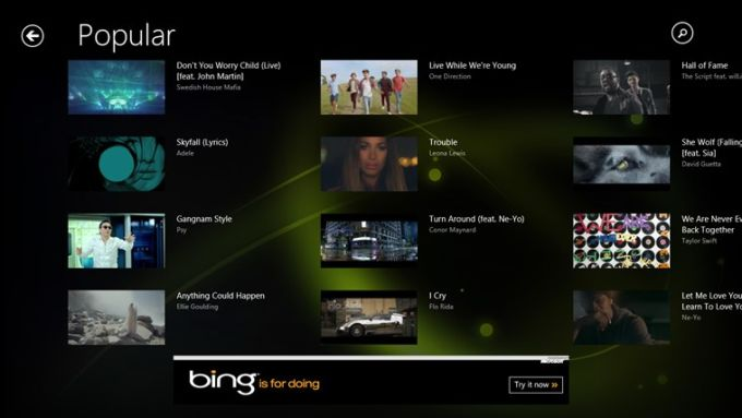 Muzu.TV for Windows 10