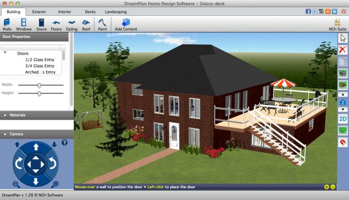 DreamPlan Home Design Free for Mac