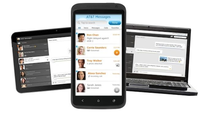 AT&T Messages for Tablet