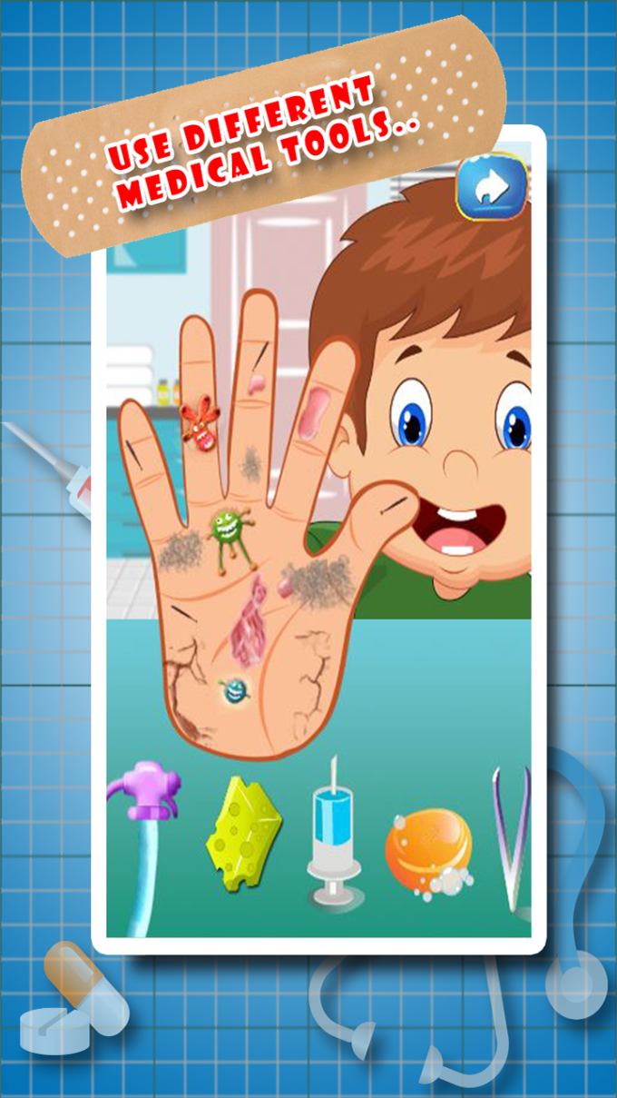 Little Hand Doctor - Kids Game
