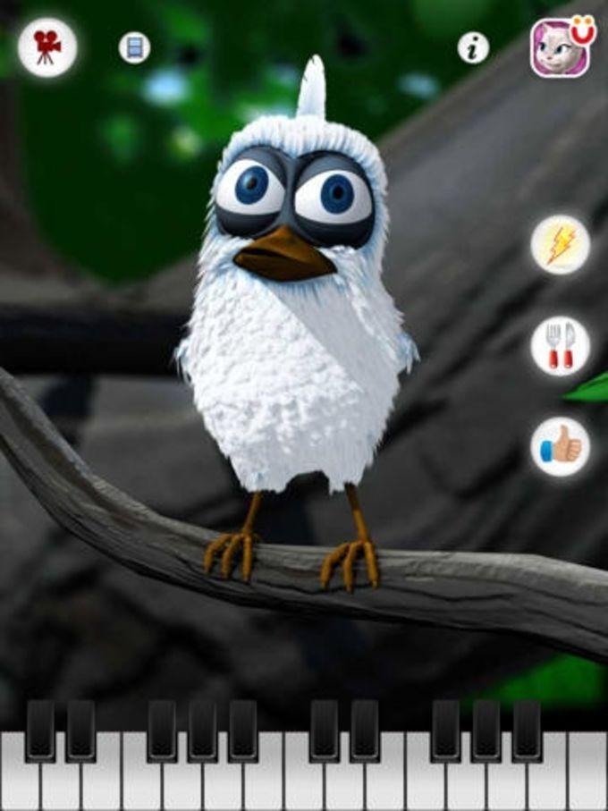 Larry l'oiseau qui parle pour iPad
