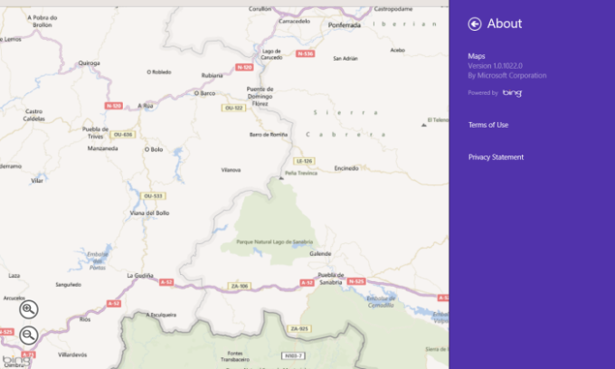 Maps für Windows 10