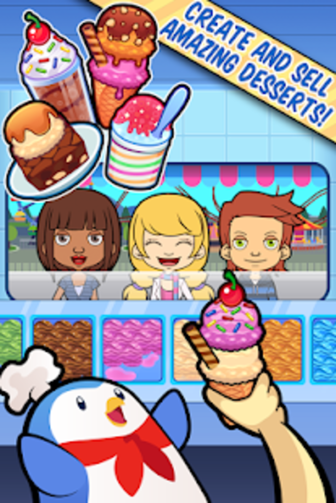 My Ice Cream Truck  Make Sweet Frozen Desserts