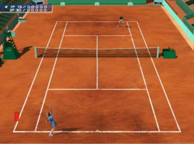 Roland Garros 2002 Next Generation Tennis Demo