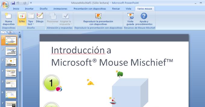 Microsoft Mouse Mischief