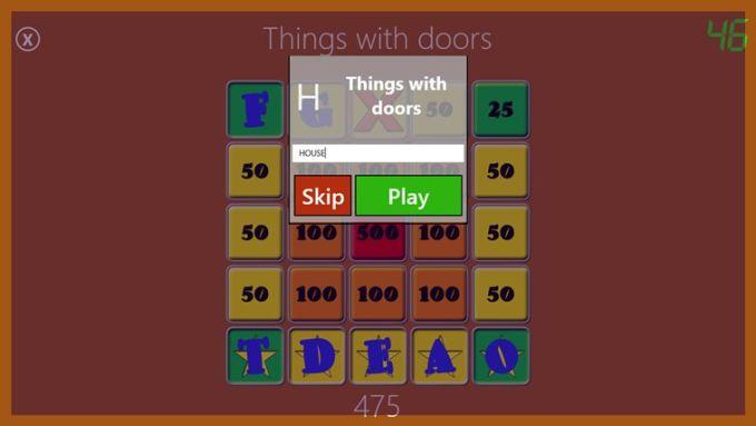 Daily Word Bingo pour Windows 10