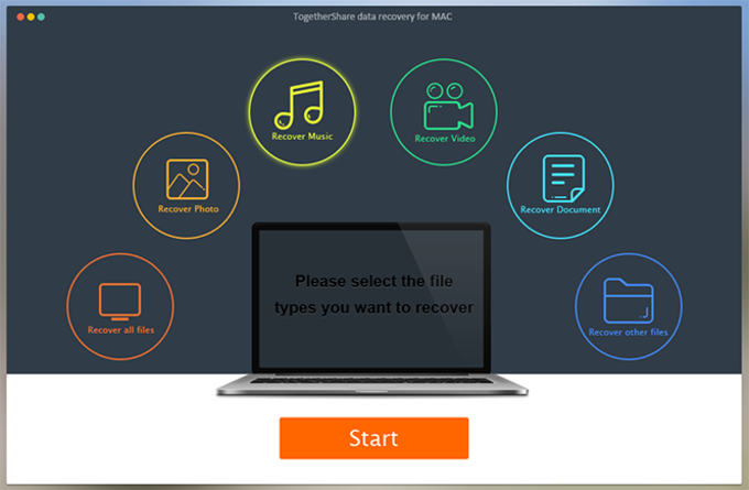 TogetherShare Mac Recovery Free