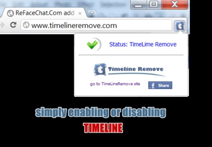 Timeline Remove für Firefox