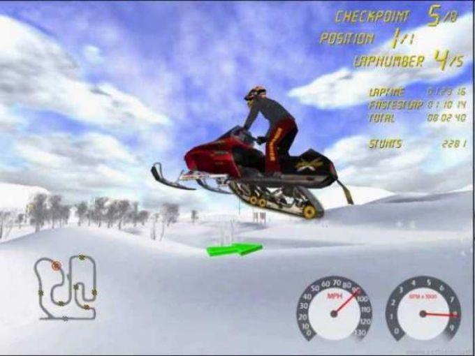 ski-doo Racing Demo