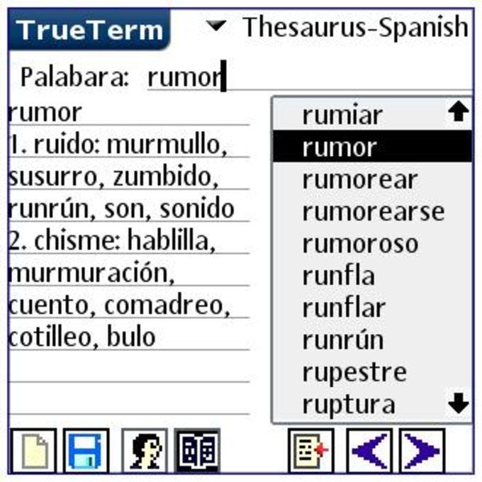 English/Spanish-Special PalmOS