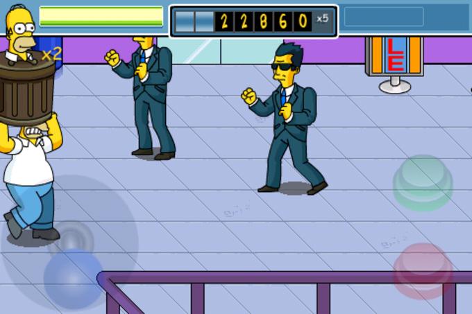 Simpsons Arcade