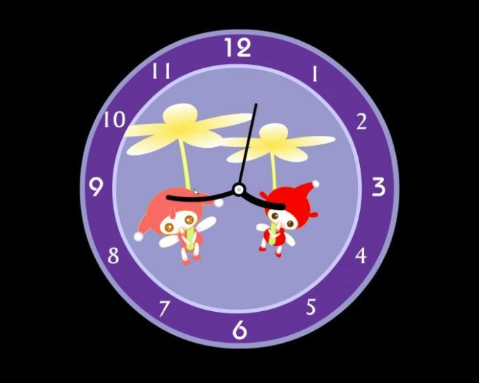 Naughty Clock Screensaver