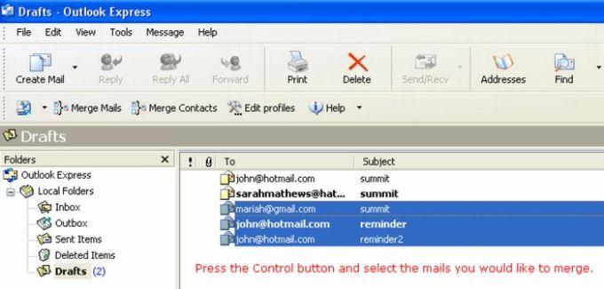 Outlook Express Duplicate Killer