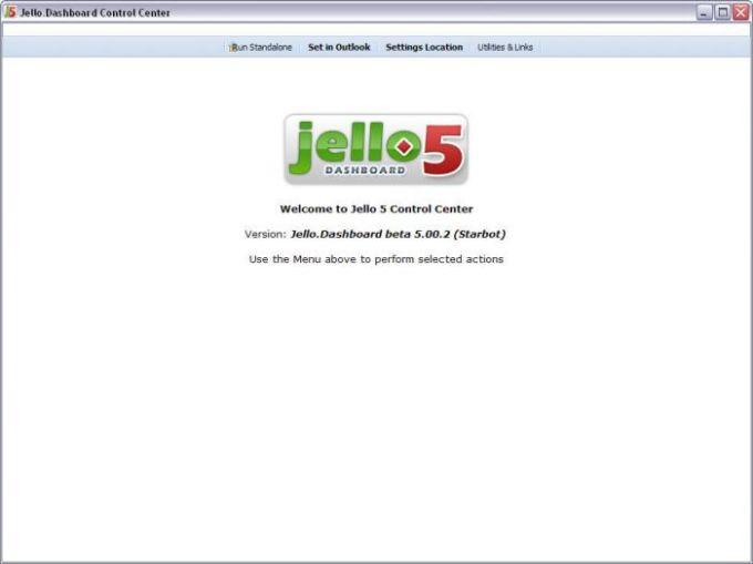 Jello Dashboard